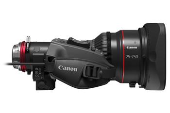 Canon CINE-SERVO 25-250mm PL Mount 4K Lens w/1.5x Extender T2.95-3.95 / CN10x25 IAS S/P1