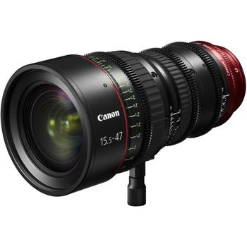 Canon PL-Mount CN-E 15.5-47mm f/2.8 L SP/MOD Digital Cinema Zoom Lens with EF-Mount Conversion Parts (7622B005)