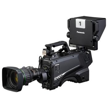 Panasonic AK-HC3900GSJ HD HDR (1080P) / (4K output upgradeable) Portable Studio Camera (SMPTE Fiber Lemo Connector)