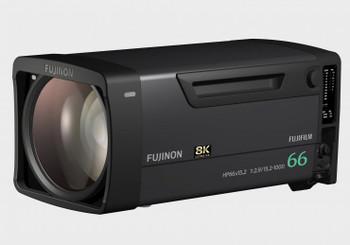 Fujinon HP66X15.2 8K Box Lens w/ 66x Zoom