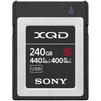 Sony QD-G240F/J 240GB G Series XQD Memory Card