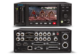 AJA 12G-SDI 4K/UltraHD/HD Recorder and Player Multi-Channel HD Recorder