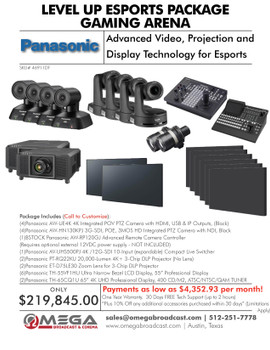 PANASONIC LEVEL UP ESPORTS PACKAGE #2 - GAMING ARENA