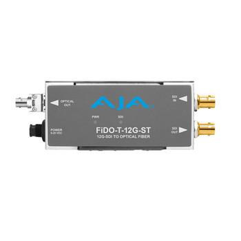 1-Channel 12G-SDI to Single Mode ST Fiber Transmitter