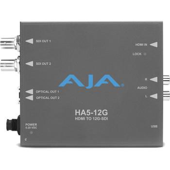 AJA HA5-12G HDMI 2.0 to 12G-SDI Converters