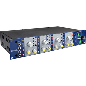 Focusrite 4 Channel Microphone Preamp