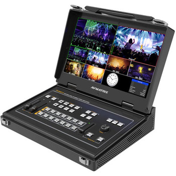 AV Matrix PVS0613: Portable 6-Channel SDI/HDMI Multi-Format Video Switcher