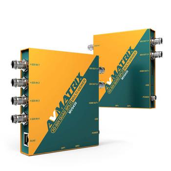 AV Matrix MV0430 3G-SDI Quad Split Multiviewer