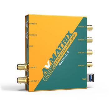 AV Matrix 12G-SDI 1x5 Reclocking Distribution Amplifier