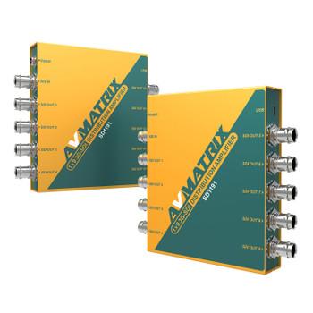 AV Matrix SD1191 1ÌÑ9 SDI Reclocking Distribution Amplifier