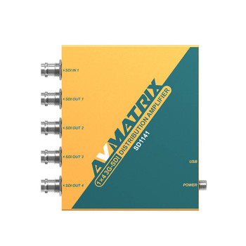 AV Matrix SD1141 1ÌÑ4 SDI Reclocking Distribution Amplifier