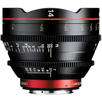 Canon EF CN-E Cinema Prime 7-Lens Kit (14, 20, 24, 35, 50, 85, 135mm)