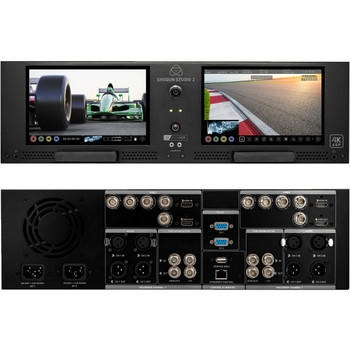 Atomos ATOMSHSTU2 Shogun Studio II Rackmount 4K Dual Recorder & Monitor (3RU)