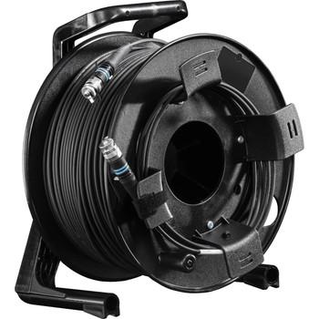 Fieldcast C2200 2Core Multi-Mode Fiber Optic Cable on Winding Drum (Ultralight, 656')