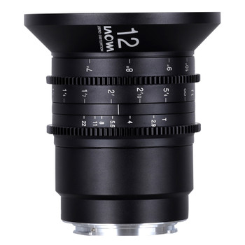 Venus Optics VE1229RFC Laowa 12mm T2.9 Zero-D Cine Lens (Canon RF) (Cine, Feet)