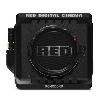 RED 710-0333 KOMODO 6K Camera (Black, Canon RF)