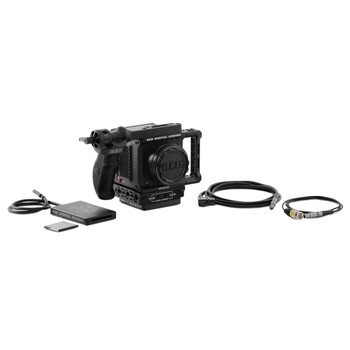 RED 710-0340 KOMODO 6K Camera Production Pack (Black, Canon RF)