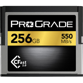 ProGrade Digital PGCFA256GAJBH 256GB CFast 2.0 Memory Card
