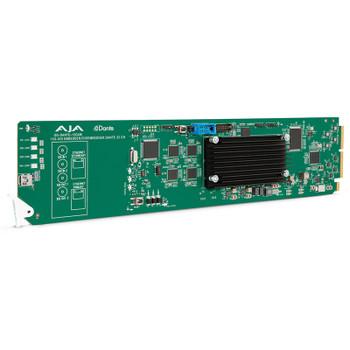 AJA OG-DANTE-12GAM openGear 12G-SDI/DANTE 64-Channel Embedder/Disembedder