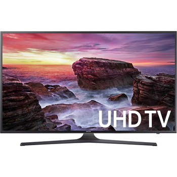 "Used Samsung MU6290 55"" Class HDR UHD Smart LED TV"