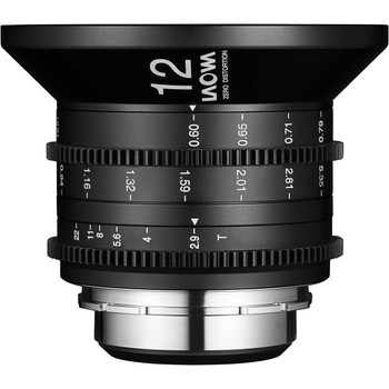 Venus Optics VE1229PL Laowa 12mm T2.9 Zero-D Cine Lens (PL Mount)