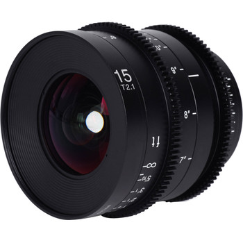 Venus Optics VE1521SFEC Laowa 15mm T2.1 Zero-D Cine Lens (Sony E Mount, Feet)