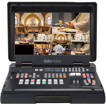 Data Video HS-1300 HS-1300 6-Channel HD Portable Video Streaming Studio