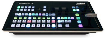 BSTOCK Ross Carbonite Black Solo13 – 13-Input / 6 Output, 1 M/E Video Production Switcher