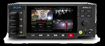 DEMO AJA Ki Pro GO Multi-Channel H.264 Recorder and Player