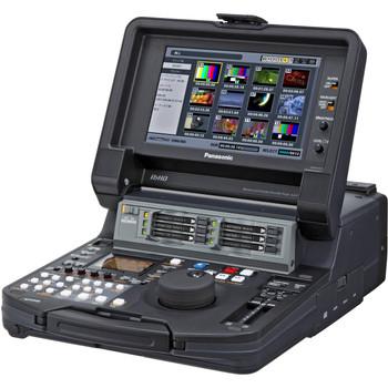 USED Panasonic AJ-HPM200PJ: P2 Mobile AVC-Intra/DVCPRO HD/50/25 P2 HD Recorder/Player with eSata, GigE