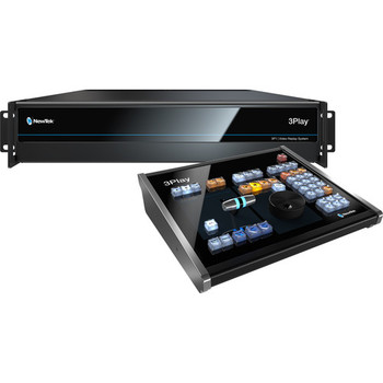 BSTOCK NewTek 3Play 3P1 IP Replay System & Control Surface