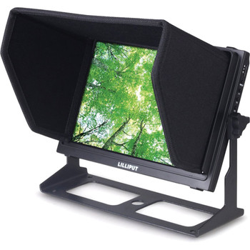 """Lilliput Electronics TM-1018/S 10.1"""" Touchscreen LED Backlit Camera Monitor with 3G-SDI Connection"""
