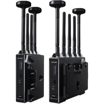 Teradek 10-2119-G Bolt 4K MAX Wireless TX/RX Set (Gold Mount)