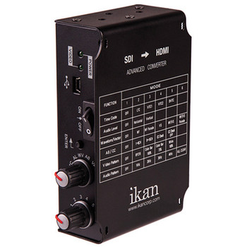 iKan Waveform Rasterizer / Generator w/Audio, 3G-SDI Loop-thru, HDMI output