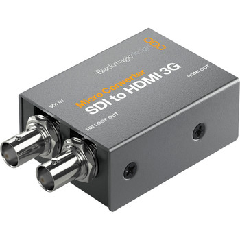 Blackmagic Design CONVCMIC/SH03G/WPSU Micro Converter SDI to HDMI 3G (with Power Supply)