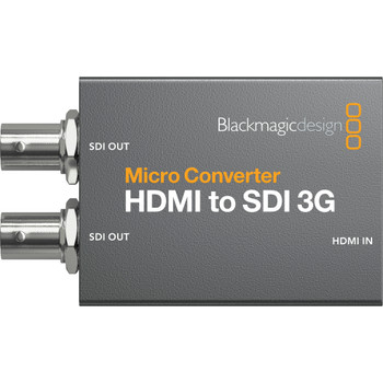Blackmagic Design CONVCMIC/HS03G/WPSU Micro Converter HDMI to SDI 3G (with Power Supply)
