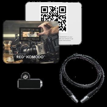 SmallHD SFW-CINE7-RED-KOMODO-CONTROL-KIT Cine 7/702 Touch Monitor Camera Control Kit for RED KOMODO