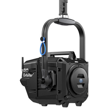 Arri L1.0033521 Orbiter LED Light with Open Face without Lens, Yoke & Cable (Black)