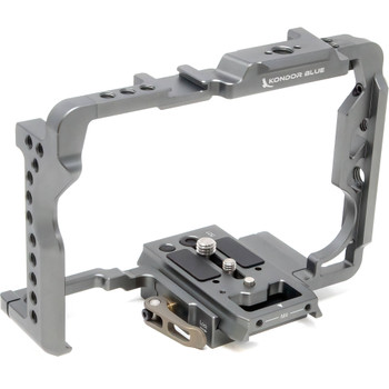 Kondor Blue KB-S1H Camera Cage with Remote Trigger Handle for Panasonic Lumix S1/S1R/S1H