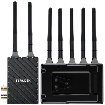 Teradek 10-2200-V Bolt 4K LT 750 3G-SDI/HDMI Wireless RX/TX Deluxe Kit (V-Mount)