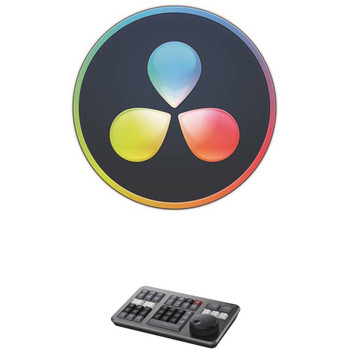Blackmagic Design DV/RESSTUD/SE/BUN DaVinci Resolve 17 Studio with Speed Editor (Activation Card)