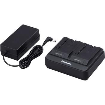 BSTOCK Panasonic AG-BRD50P Battery Charger for AG-VBR & Other Batteries