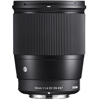 Sigma 402965 16mm f/1.4 DC DN Contemporary Lens for Sony E