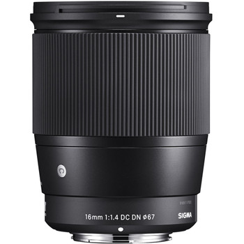 Sigma 402971 16mm f/1.4 DC DN Contemporary Lens for Canon EF-M