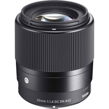 Sigma 302965 30mm f/1.4 DC DN Contemporary Lens for Sony E