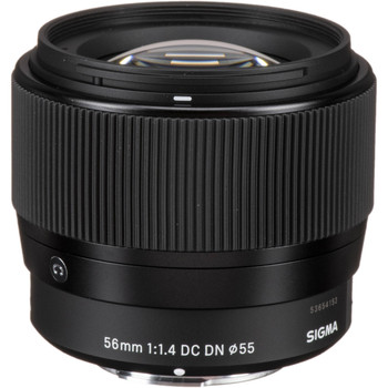 Sigma 351963 56mm f/1.4 DC DN Contemporary Lens for Micro Four Thirds