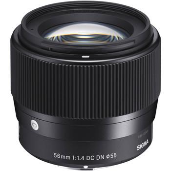 Sigma 351965 56mm f/1.4 DC DN Contemporary Lens for Sony E