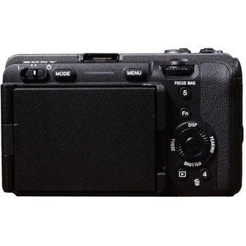 Sony ILME-FX3 Cinema Line full-frame ultra compact camera with Fast Hybrid & Real-time Eye AF, 4K (QFHD) high-frame-rate 120fps, 15+ stop dynamic range and S-Cinetone™ colour science