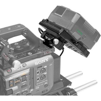 SHAPE VBFX6 Pivoting Battery Plate for Sony FX6 (V-Mount)