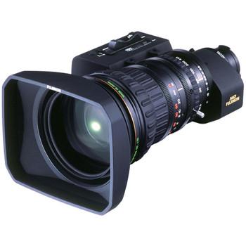 "BSTOCK Fujinon HA25X16.5BERD-S18 2/3"" 16.5-413mm f/2.8-4.0 HD Telephoto Lens for ENG/EFP Camera, 25x Zoom Ratio, 2x Extender, Digital Servo Zoom & Focus, Non-Motorized"